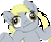 Derpy Hooves Running Icon [NEVERMIND][VOID] by Purpl3Surreal
