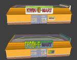 Simpsons Hit and run Kwik-E-Mart