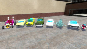 Simpsons Hit and Run cars 2