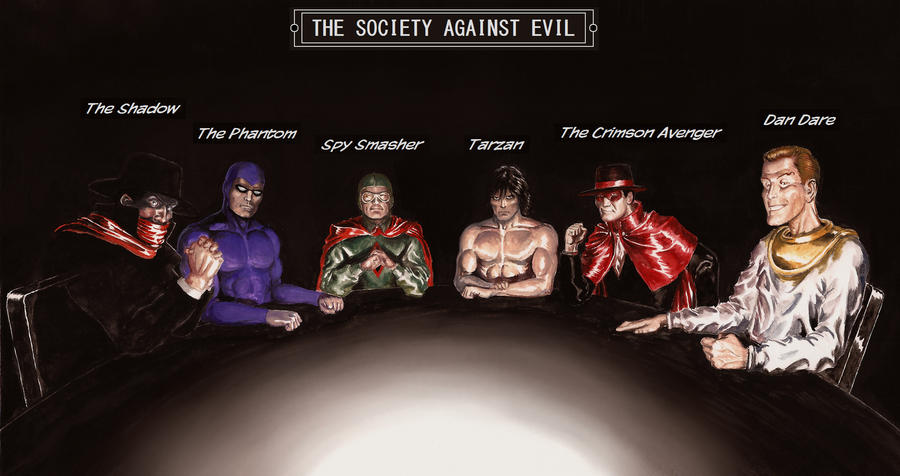 Society Against Evil by Nick-Perks