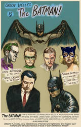 Batman starring Orson Welles by Nick-Perks