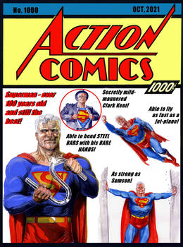 Issue 1000 we'll never see - Action Comics