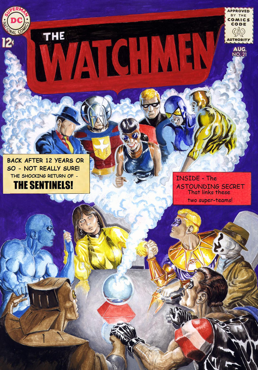 Image result for Watchman/Charlton universe