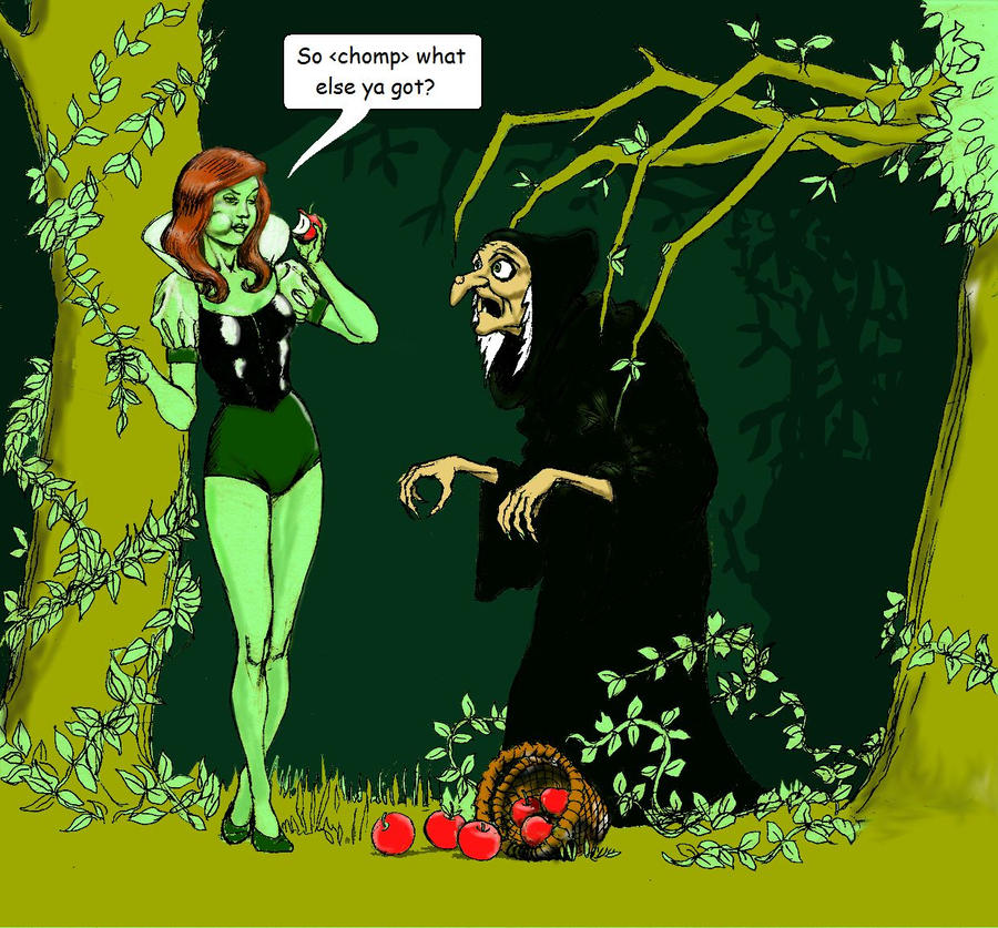 Poison Ivy as Snow White by Nick-Perks