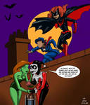 Batman: TAS style Batwoman and The Question