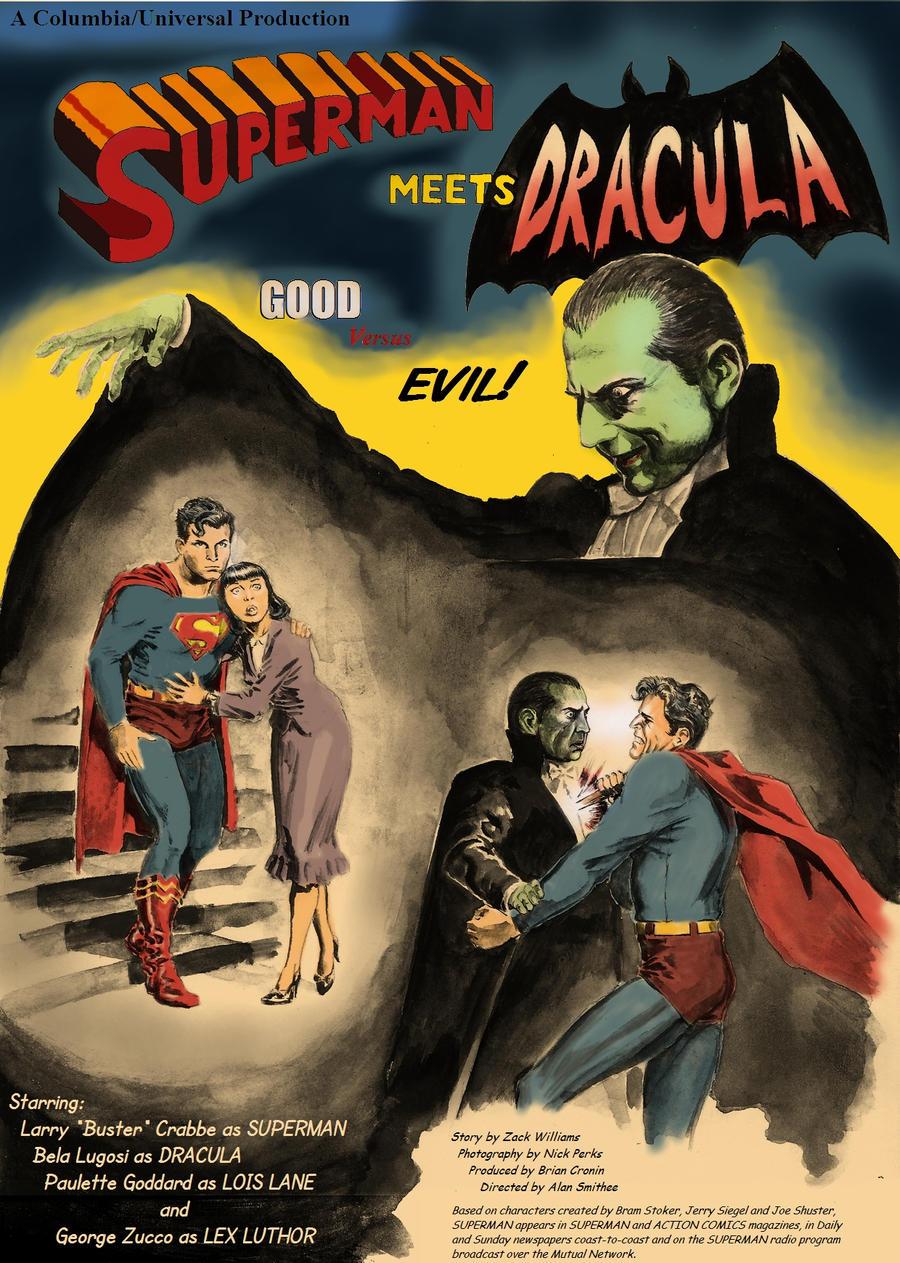 Superman versus Dracula by Nick-Perks
