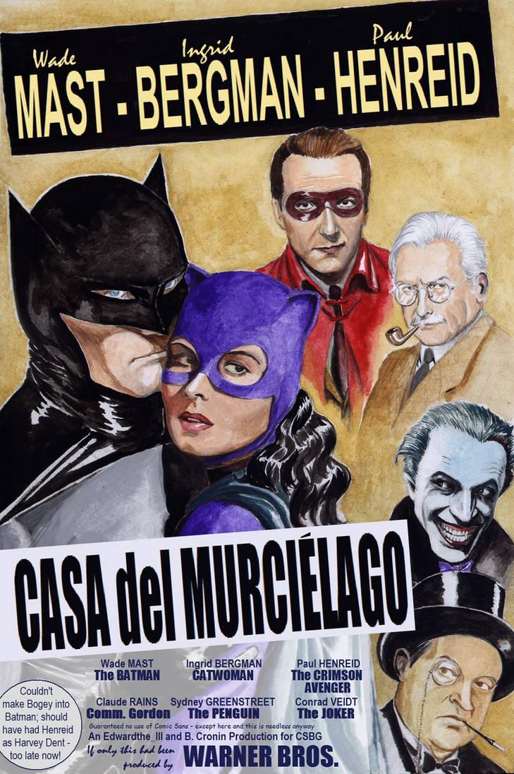 Valentine's Day - Batman + Catwoman in Casablanca