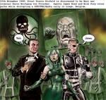 James Bond and Nick Fury - agent of SHIELD