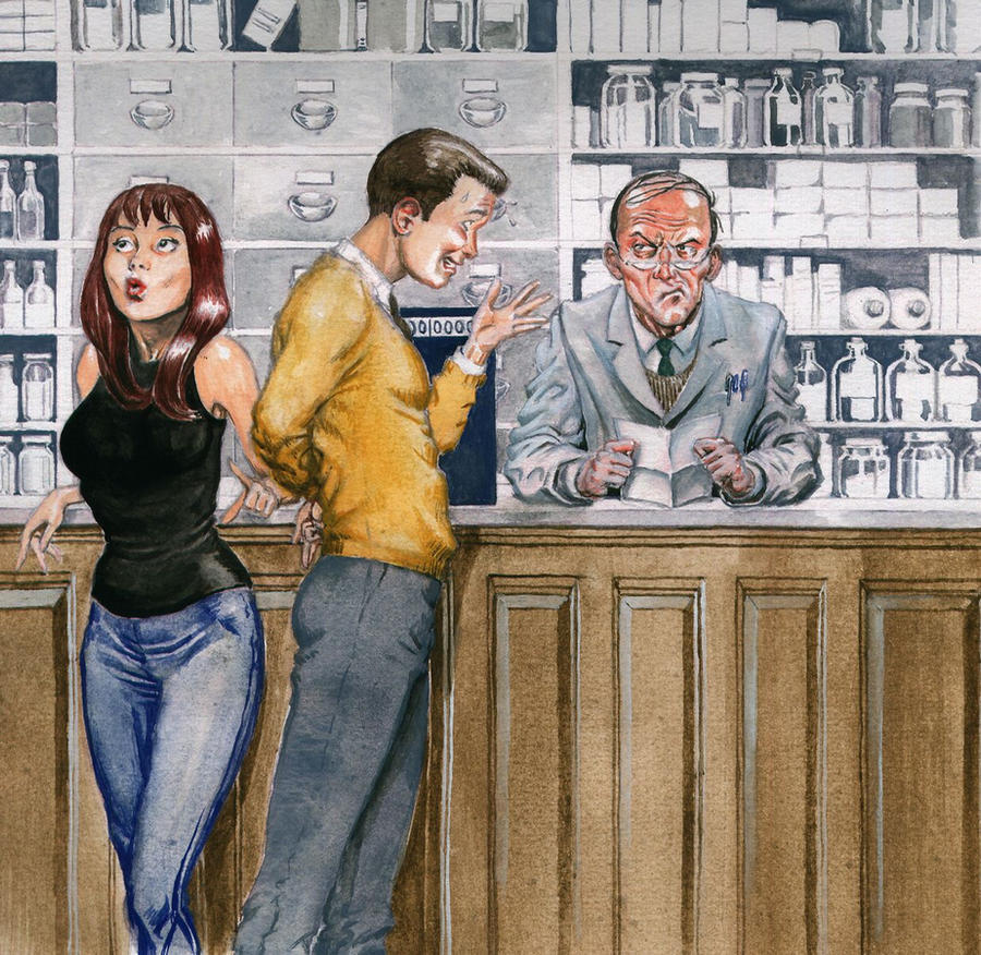 Everyday situations- Peter Parker buying chemicals