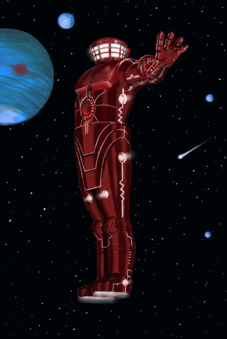 The Celestial (after Jack Kirby) by Nick-Perks
