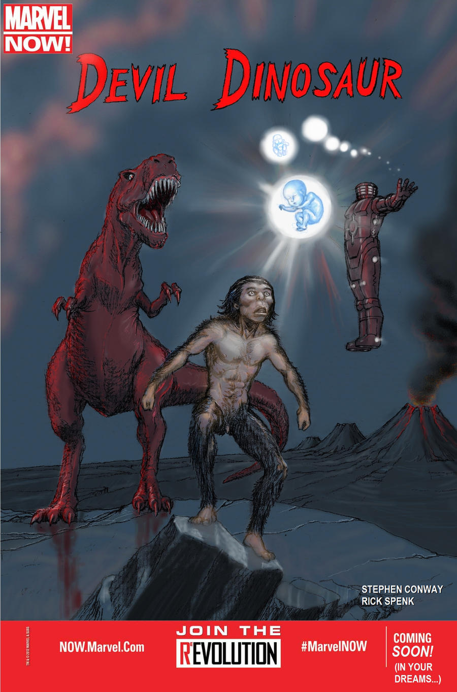 NOT MARVEL NOW! Devil Dinosaur! by Nick-Perks