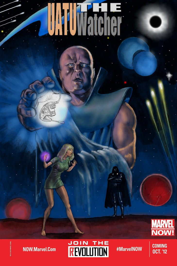 NOT MARVEL NOW! Uatu The Watcher by Nick-Perks