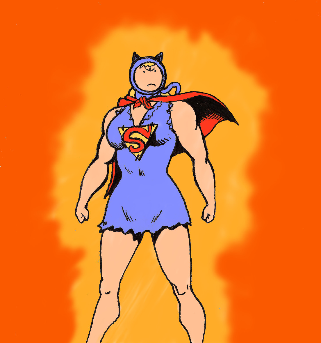 Tliid Adventure Time Supergirl As Susan Strong 1 By Nick