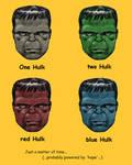 TLIID - Dr Seuss homage - One Hulk, two Hulk... by Nick-Perks