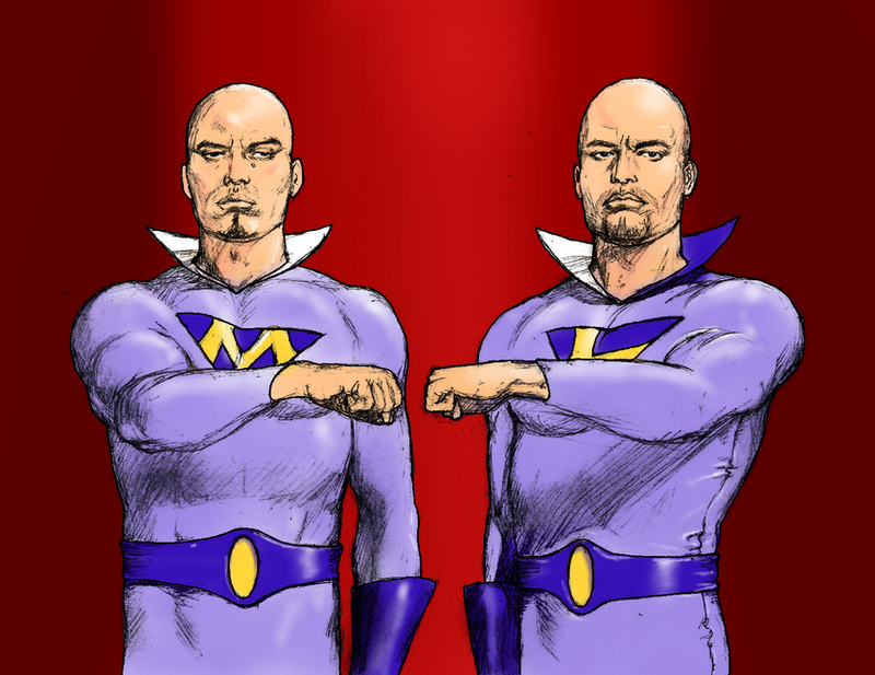 TLIID Breaking Bad The Cousins as The Wonder Twins by Nick-Perks