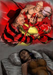 TLIID Halloween 2013- 1970s Sandman v Freddy by Nick-Perks