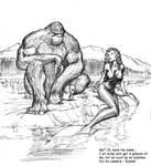 TLIID Bigfoot meets... Lori Lemaris, mermaid by Nick-Perks