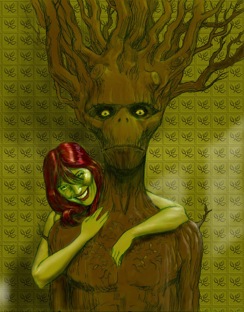 TLIID Valentines - Groot and Poison Ivy by Nick-Perks