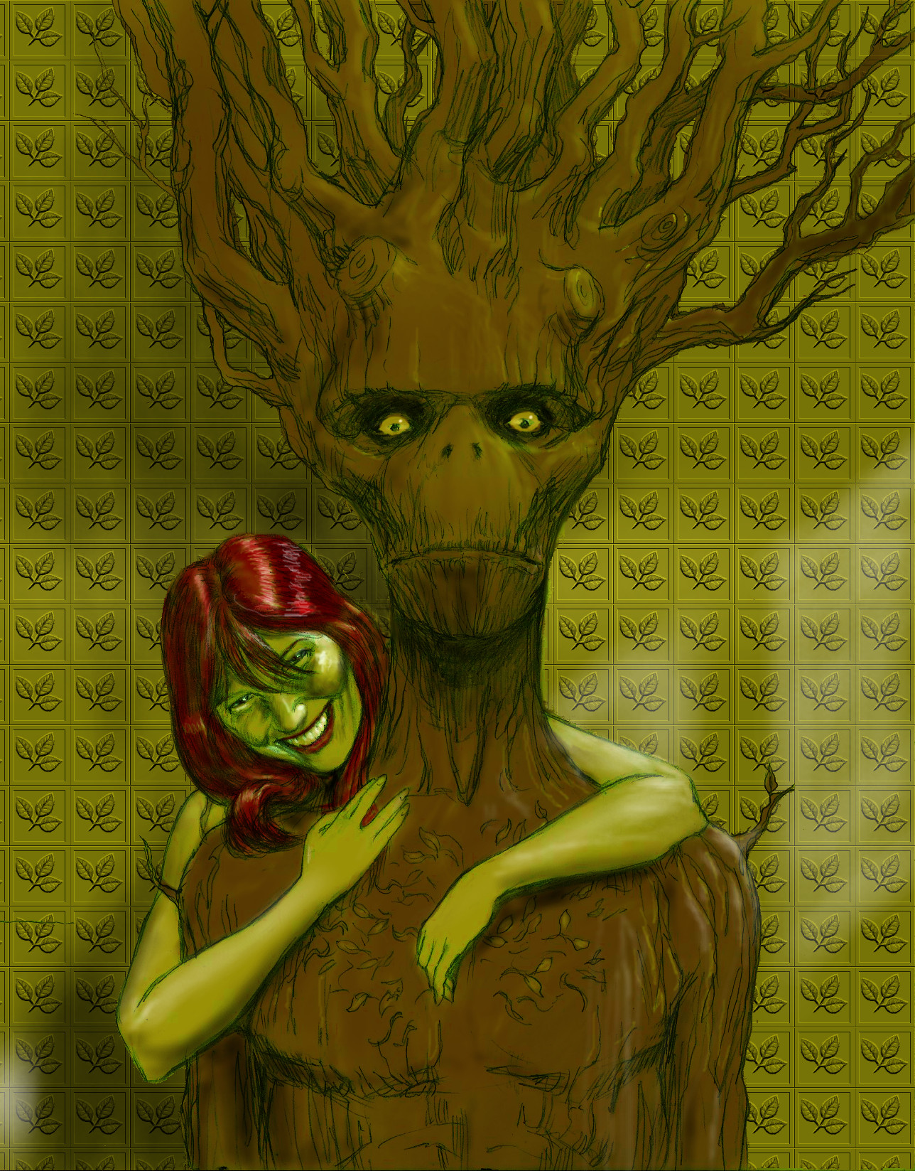 TLIID Valentines - Groot and Poison Ivy