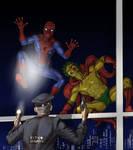 TLIID Spider-Man team-up The Creeper
