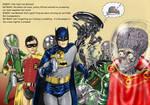TLIID H.R.Giger tribute - Batman 66 vs Aliens