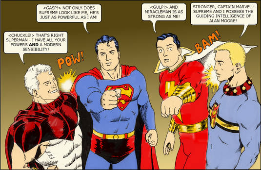 TLIID Superman-Supreme-Captain Marvel-Miracleman 2