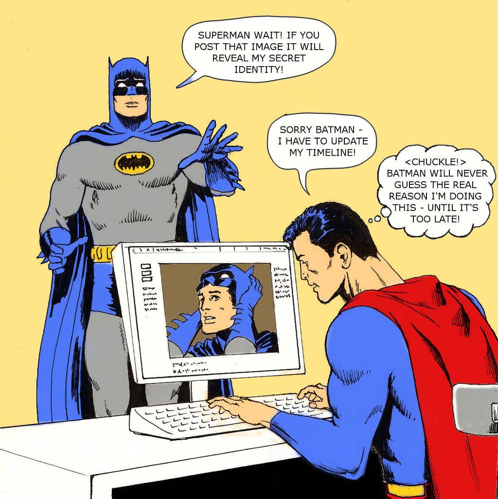 TLIID Super-dickery Superman Batman shock