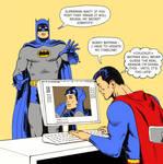 TLIID Super-dickery Superman Batman shock by Nick-Perks