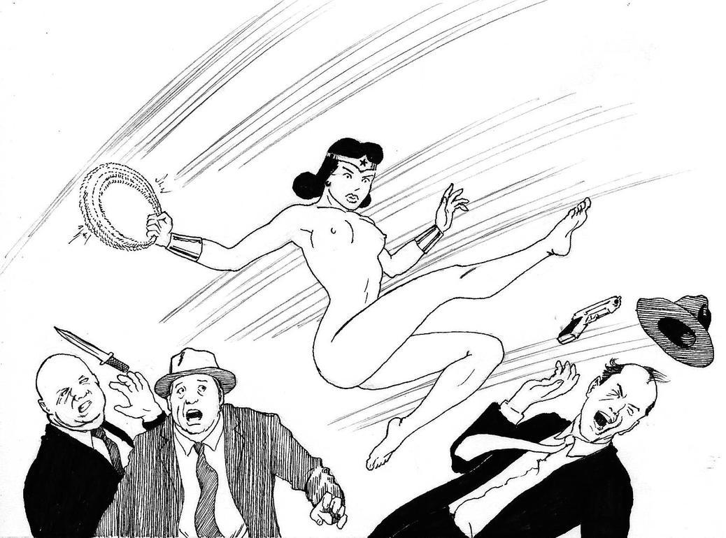 TLIID - Manga version of Wonder Woman 3 by Nick-Perks