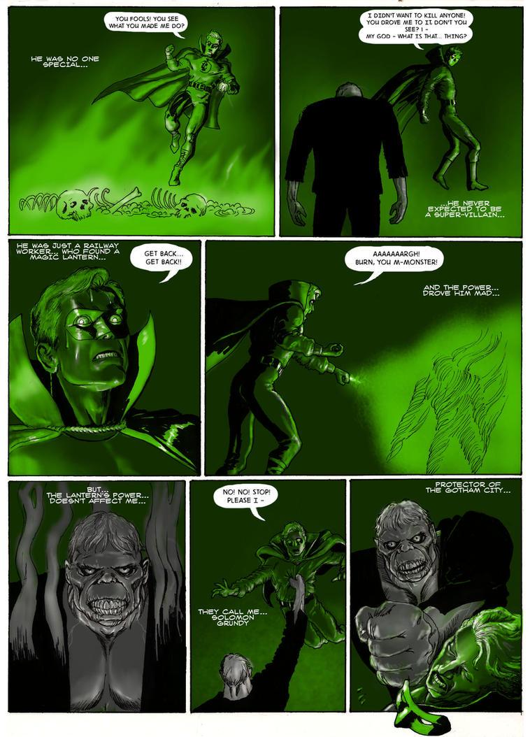 TLIID - Solomon Grundy as hero (GL as villain...) by Nick-Perks