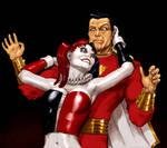 TLIID - Harley Quinn and Captain Marvel (Shazam)