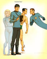 TLIID Nimoy tribute - Spock meets Invisible Woman by Nick-Perks