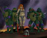 TLIID Teenage Mutant Ninja Turtles meet Red Sonja