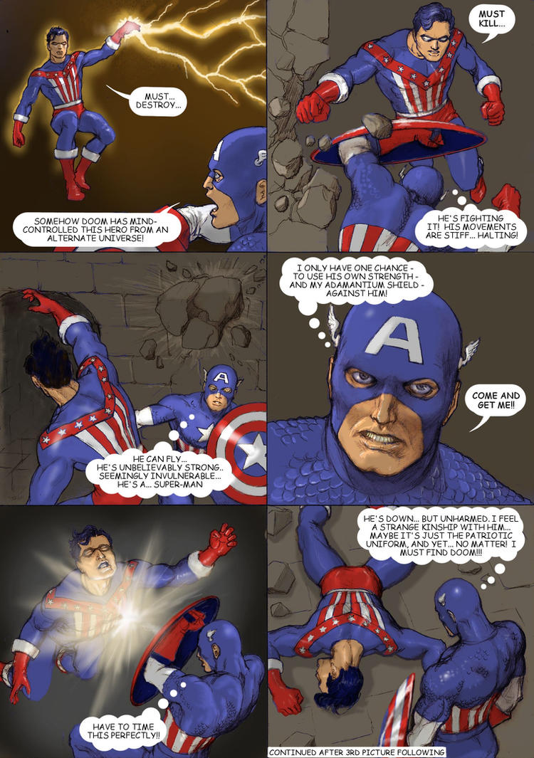 TLLIID Convergence Captain America and The Shield by Nick-Perks