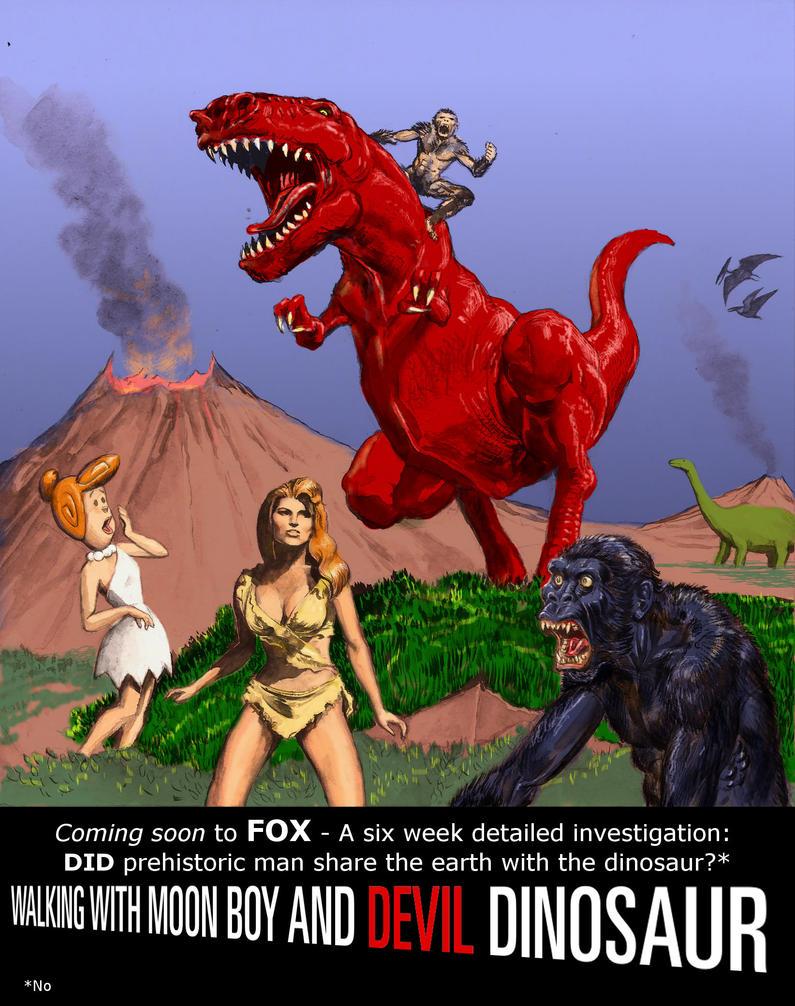 TLIID Marvel series we WON'T see - Devil Dinosaur by Nick-Perks