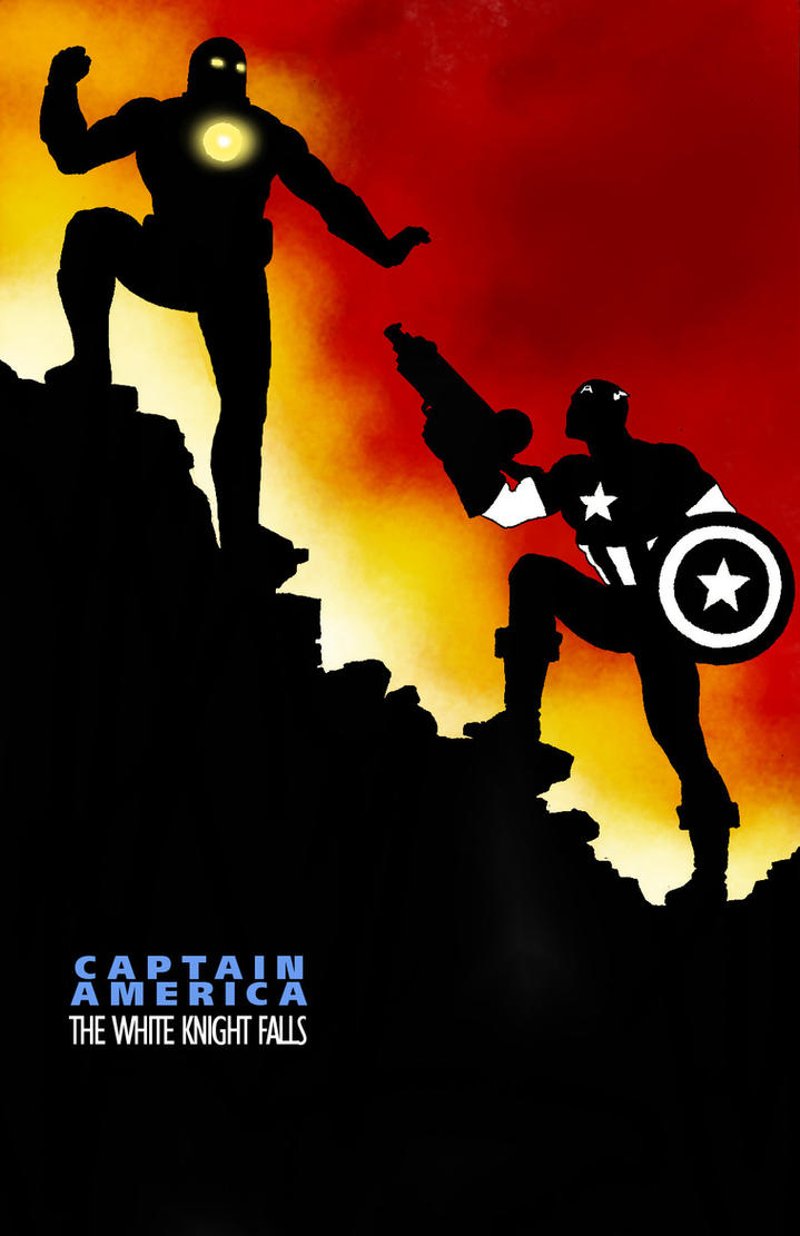 Cover homage Captain America in DKR 4 by Nick-Perks