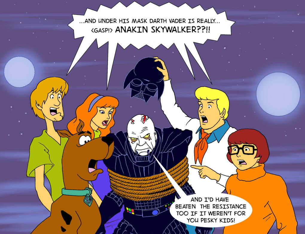 Tliid 270 Star Wars Mash Up With Scooby Doo By Nick Perks On Deviantart