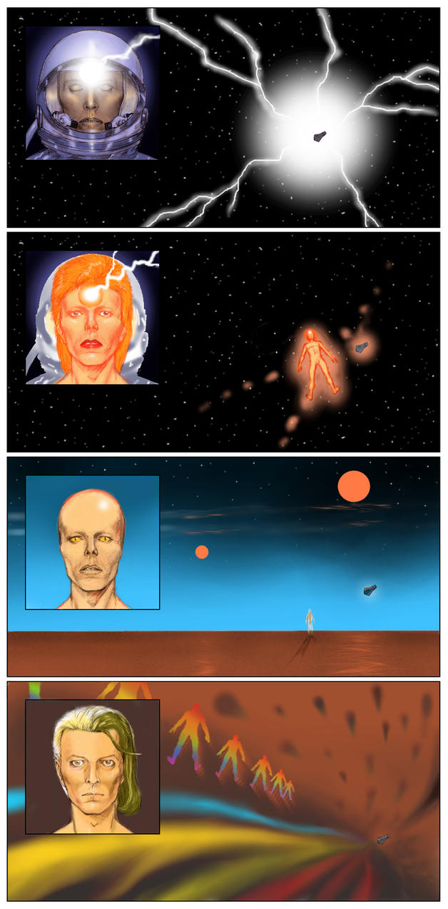 David Bowie 2001 A Space Oddity to Blackstar p2 by Nick-Perks