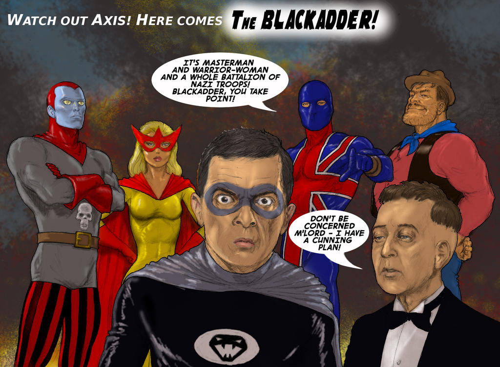 TLIID 276 classic-tv-shows as comics - Blackadder by Nick-Perks
