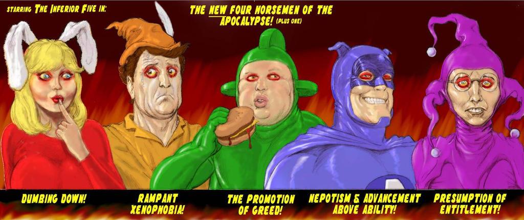 TLIID 294 4 Horsemen of the Apocalypse- Inferior 5 by Nick-Perks