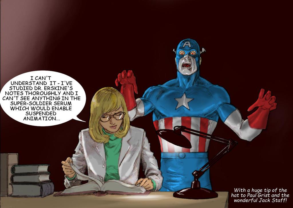 TLIID 295 Shock twist Captain America is a vampire by Nick-Perks