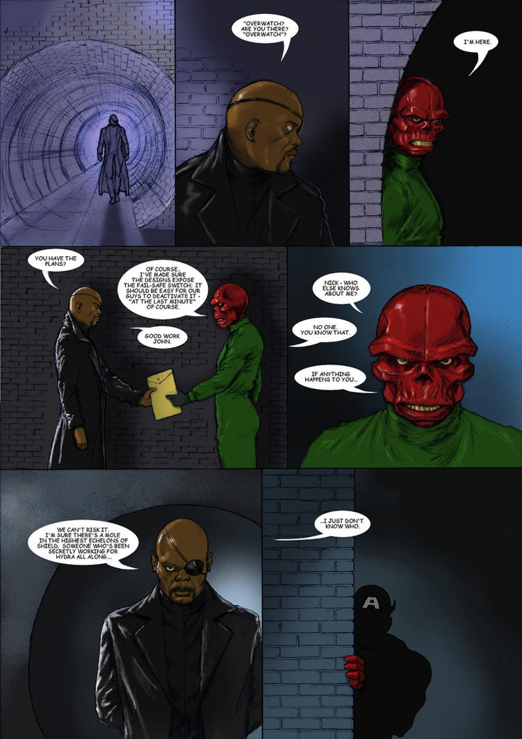 TLIID 295 Shock twist - Red Skull agent of SHIELD by Nick-Perks