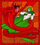 TLIID 298 DC v Marvel - Spectre v Mephisto