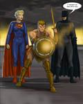 TLIID 301 gender swap Batman v Superman  plus WW