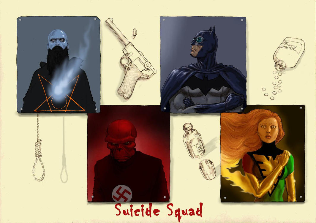 TLIID 303 Suicide Squads - Rasputin, Red Skull, + by Nick-Perks
