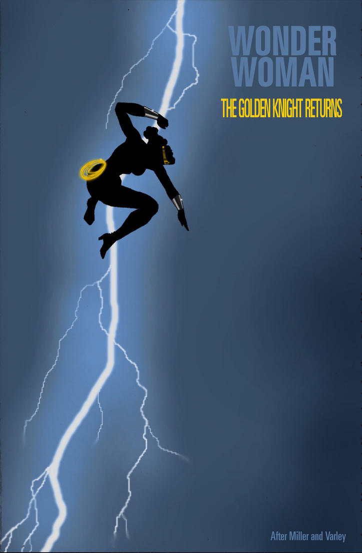 TLIID Wonder Woman in... Batman DKR #1 by Nick-Perks