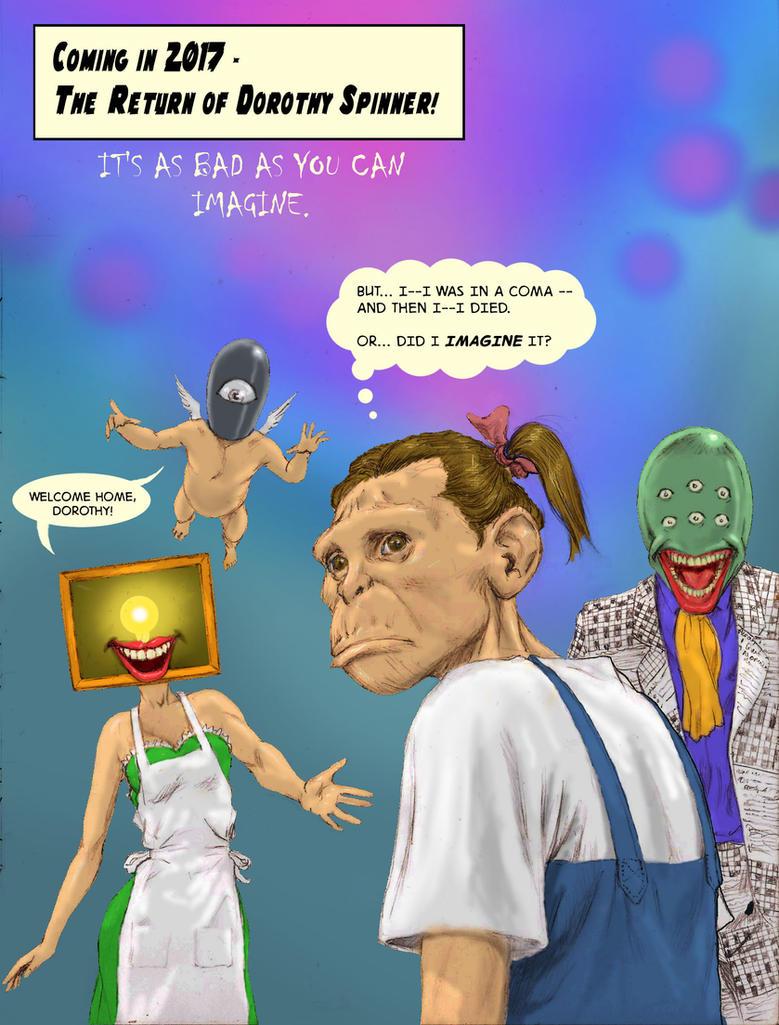 TLIID Shocking Returns Dorothy Spinner Doom Patrol by Nick-Perks