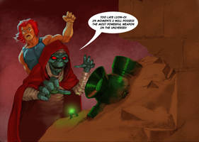 TLIID Green lantern mash-up with Thundercats by Nick-Perks