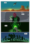 TLIID 4 Panel/8 Word Green Lantern origin