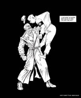 TLIID - Punching Nazis - Sin City's Marv by Nick-Perks